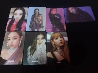 Blackpink square up official photocard