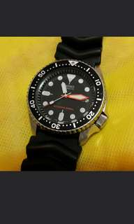 Seiko 精工 skx007 mod 換了三針  (not citizen orient)