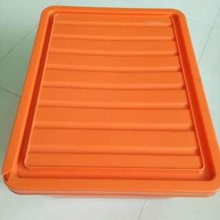 🚚 17.5 ×13.6inch Very Solid Orange Box