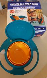 Universal gyro snack bowl