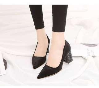 Assous Sparkly Heels