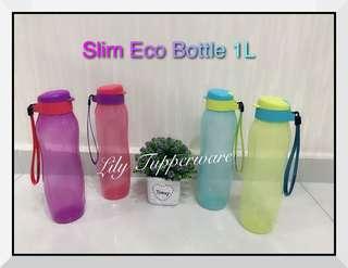 Tupperware New Slim Eco Bottle (1pc)