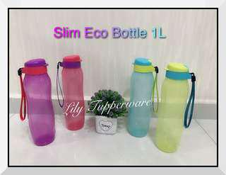 Tupperware New Slim Eco Bottle (1pc)