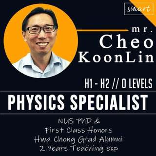 NUS First Class Hons- Physics Tuition