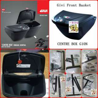 0507**--Givi Front Box G10N With Key Lock...Yamaha Sniper, Yamaha jupiter, Spark, Yamaha 125Z, Yamaha Sniper 150, Honda Wave Etc.