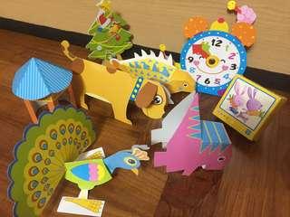 BN 3D Origami Puzzle Handwork