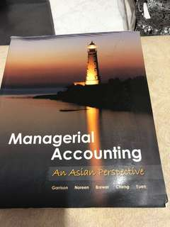 🚚 Managerial Accounting (McGraw Hill)
