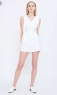 BNWT Klarra Shoulder Tie Playsuit