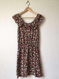 BODY & SOUL FLORAL DRESS