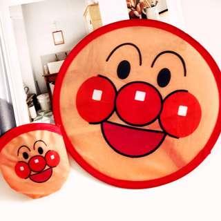 【06033】日本和風系 卡通 可愛麵包超人 摺疊扇 扇子 夏日涼扇