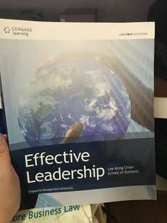 Leadership and team building textbook