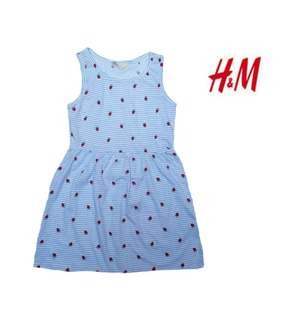 H&M dress for kids 6to8 yrs old