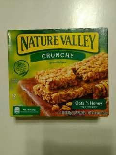 Nature Valley 天然燕麥脆條 蜜糖燕麥味