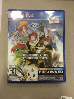 Playstation 4 Digimonstory Cybersleuth (Used)