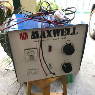 Maxwell Car Battery Charger