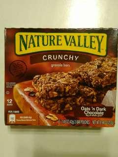 Nature Valley 天然燕麥脆條 朱古力味