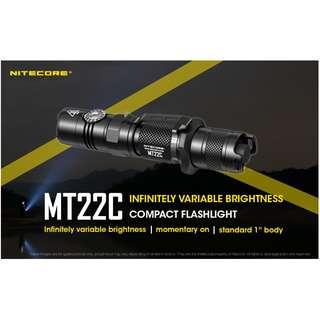 NITECORE MT22C CREE XP-L HD V6 LED 1000 Led Flashlight