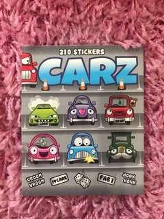 210 Mini Stickers <Carz>