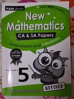 P5 maths assessment book