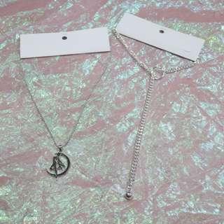 美少女戰士圓珠項鍊/圓環圓珠造型長項鍊