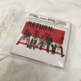 "🚚 FTISLAND 第三張迷你專輯 ""RETURN"" (台壓盤)"