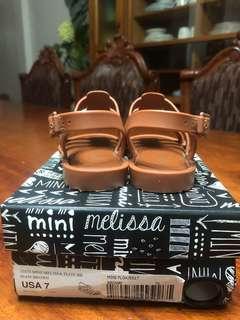 Mini melissa size 7