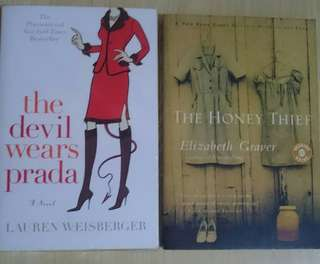 "BUY ""THE DEVILS WEAR PRADA"" AND GET 1 BOOK FREE!"