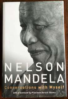 BNIP Nelson Mandela: Conversation with Myself #autobiography #South Africa #Anti-apartheid #political leader #president