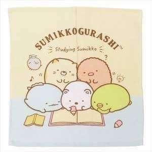 🚚 正版授權 日本 SAN-X家族 角落生物小夥伴 小方巾 兩款