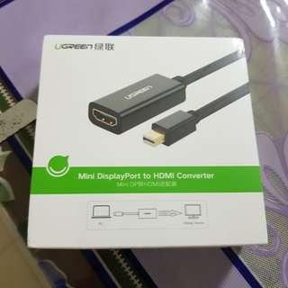 🚚 Ugreen Mini Displayport to HDMI convertor