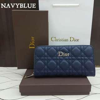 Lady Dior Navy Blue Color Purse