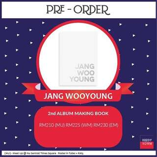 (PRE-ORDER) JANG WOOYOUNG 2nd ALBUM MAKING BOOK