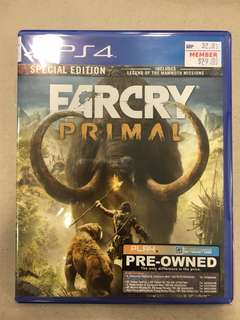 Playstation 4 Farcry Primal (Used)