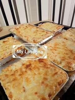 Lasagna & Cheesy Meatball