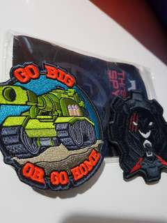 Strato Gears Tactical Patch.