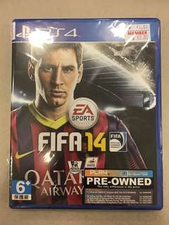 Playstation 4 FIFA 14 (Used)