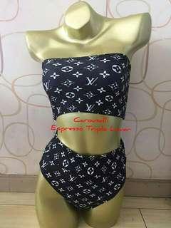 Designer Two-Piece Swimsuit