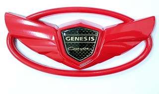 CAR EMBLEM LOGO GENESIS