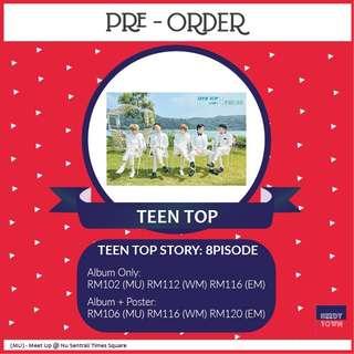 (PRE-ORDER) TEEN TOP - TEEN TOP STORY: 8PISODE