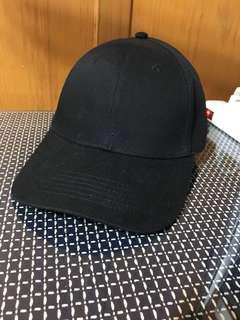 🚚 全新可調黑色鴨舌帽