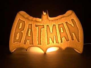 BATMAN 陶瓷燈 CERAMIC LAMP