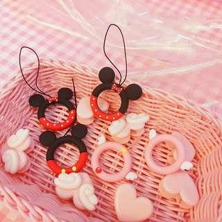 【06047】迪士尼 米奇米妮 庫洛魔法使 百變小櫻 手機指環吊飾 掛件 少女心