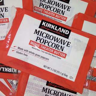 MICROWAVE POPCORN by KIRKLAND