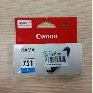 BNIB Canon CLI-751 Cyan Original PIXMA Ink Cartridge