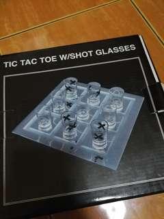 Tic tac toe shot glasses