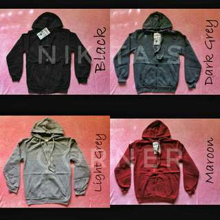 Unisex Jacket with Zipper & Hoodie