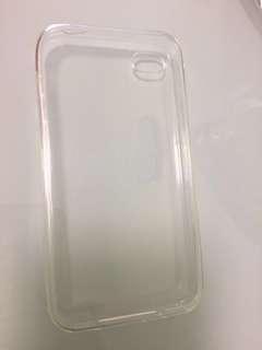 Iphone4 透明套 連指扣 頸繩