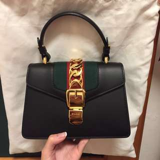 Gucci Sylvie Mini Bag - black