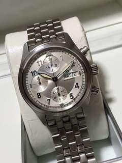 Iwc pilot Chrono 3706 bracelet