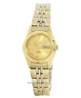 Seiko 5 Gold Japan Watch Original (For sale)